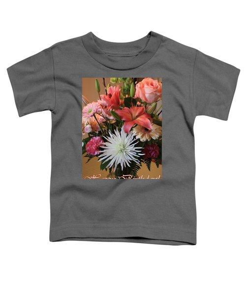 Happy Birthday Card Toddler T-Shirt