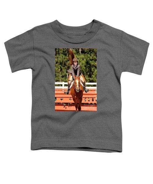 Happy Hunter Horse Toddler T-Shirt