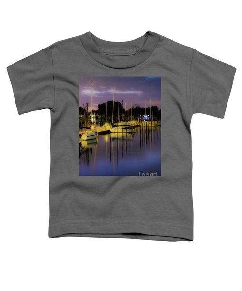 Harbor At Night Toddler T-Shirt