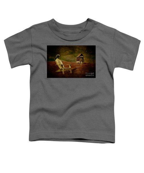 Hard Times Toddler T-Shirt by Lois Bryan