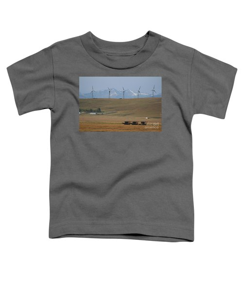 Harvesting Wind And Grain Toddler T-Shirt