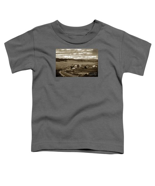 Hatton Ranch Carmel Valley From Highway One California  1945 Toddler T-Shirt