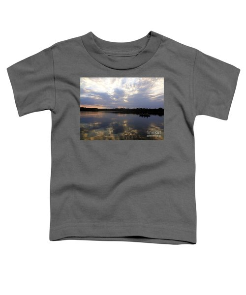 Heading Home On Lake Roosevelt In Outing Minnesota Toddler T-Shirt