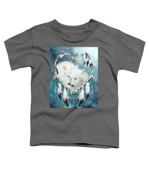 Heart Of A Wolf Toddler T-Shirt