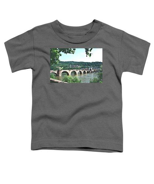 Heidelberg Schloss Overlooking The Neckar Toddler T-Shirt