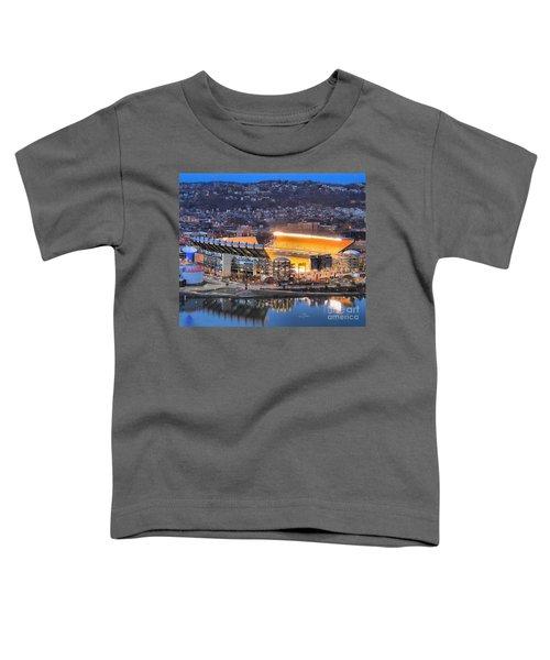 Heinz Field At Night Toddler T-Shirt
