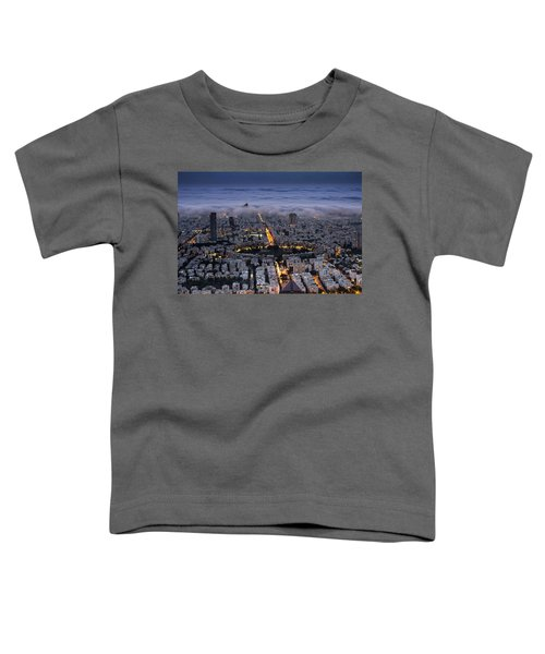 Here Comes The Fog  Toddler T-Shirt