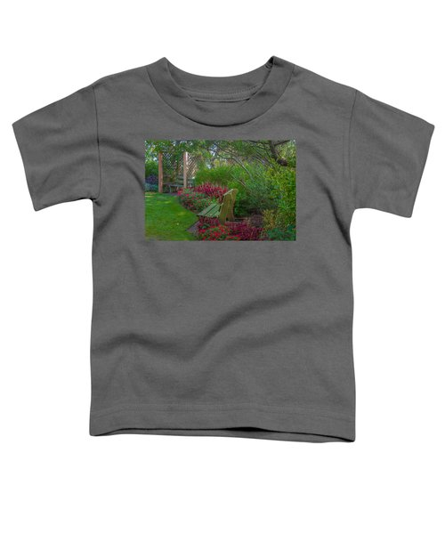 Hereford Inlet Lighthouse Garden Toddler T-Shirt