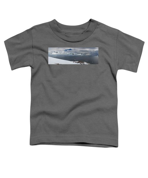 High Angle View Of A Harbor, Neko Toddler T-Shirt