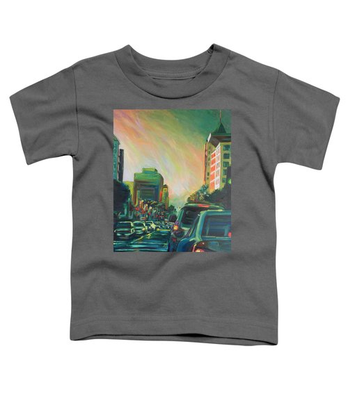 Hollywood Sunshower Toddler T-Shirt