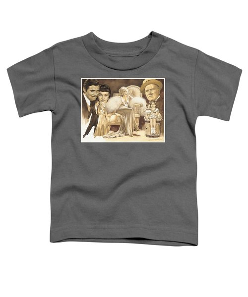 Hollywoods Golden Era Toddler T-Shirt