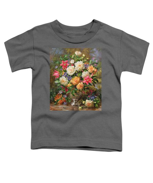 Homage To Her Majesty The Late Queen Elizabeth The Queen Mother Toddler T-Shirt