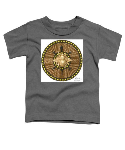 Honey Bee Turtle Toddler T-Shirt