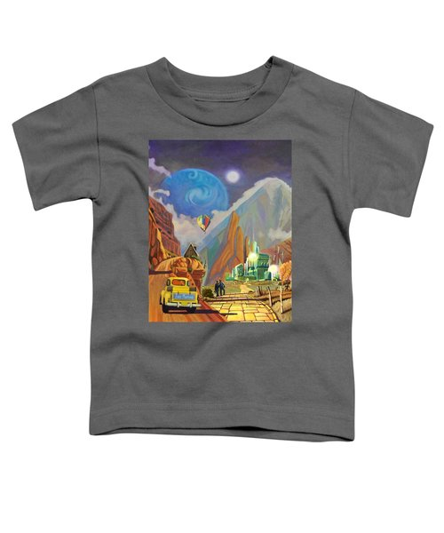 Honeymoon In Oz Toddler T-Shirt