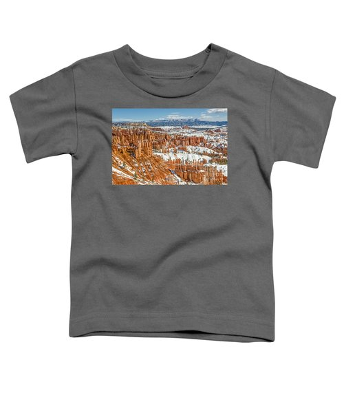 Hoodoos At Sunset Point Toddler T-Shirt