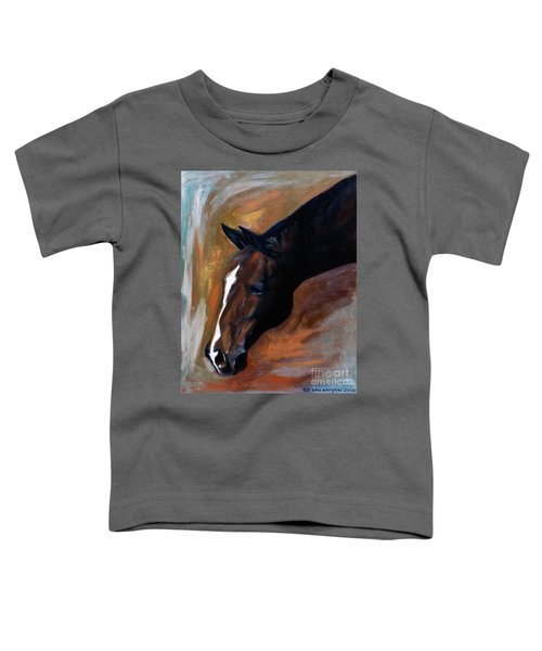horse - Apple copper Toddler T-Shirt