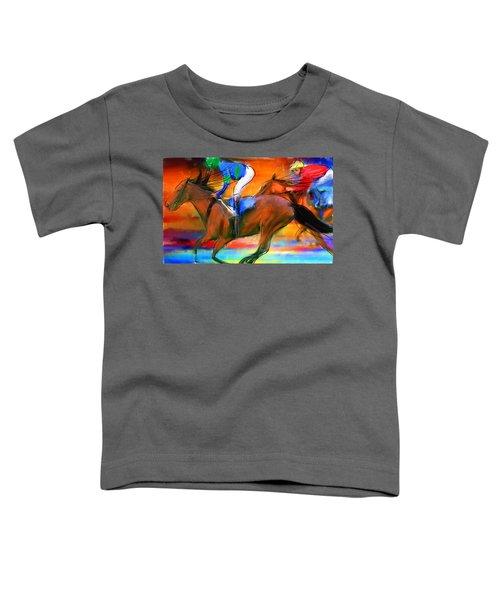 Horse Racing II Toddler T-Shirt