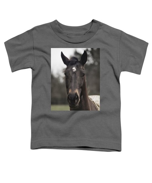 Horse With Gentle Eyes Toddler T-Shirt