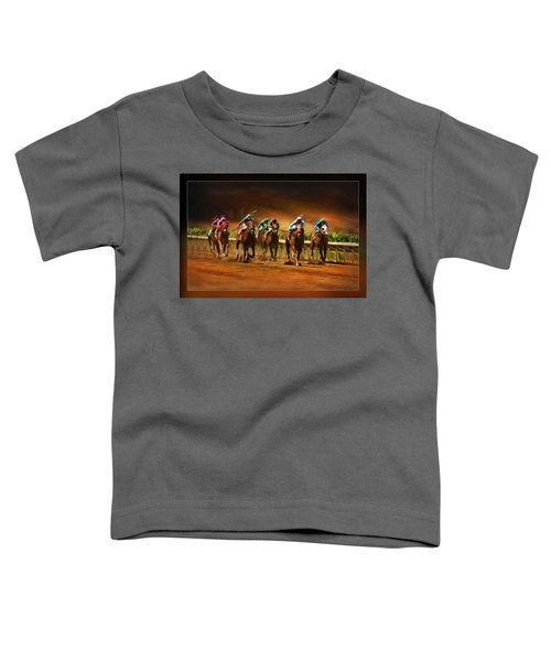 Horse's 7 At The End Toddler T-Shirt