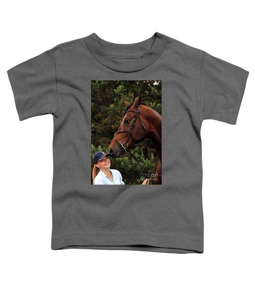 Horsie Nudge Toddler T-Shirt