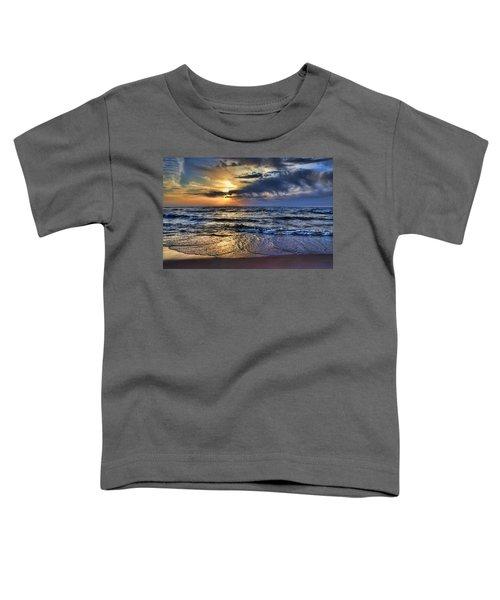 Hot April Sunset Saugatuck Michigan Toddler T-Shirt