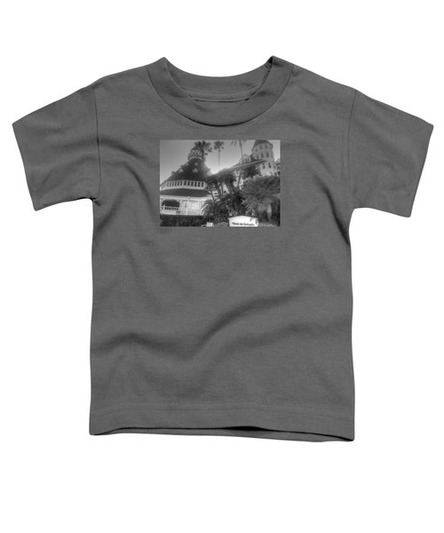 Hotel Del At Sunset Toddler T-Shirt
