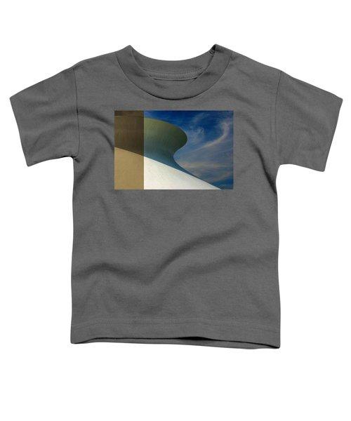 Hourglass Dome Cloud Swirl Toddler T-Shirt