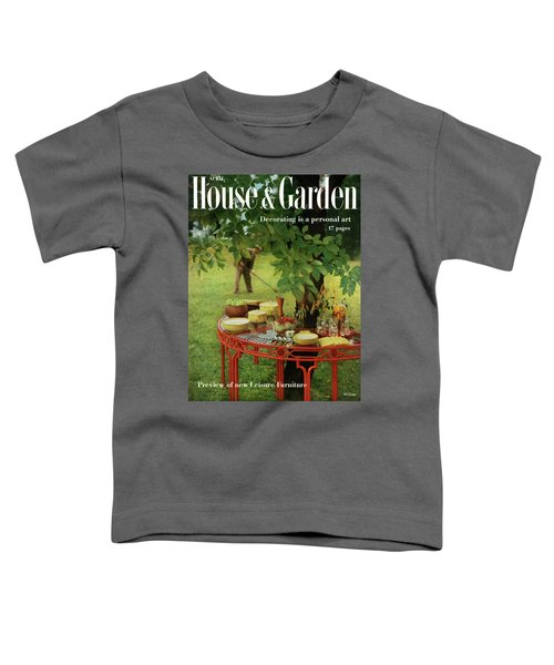 House And Garden Cover Toddler T-Shirt