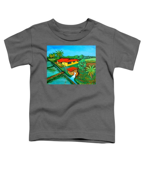 House With A Water Pump Toddler T-Shirt