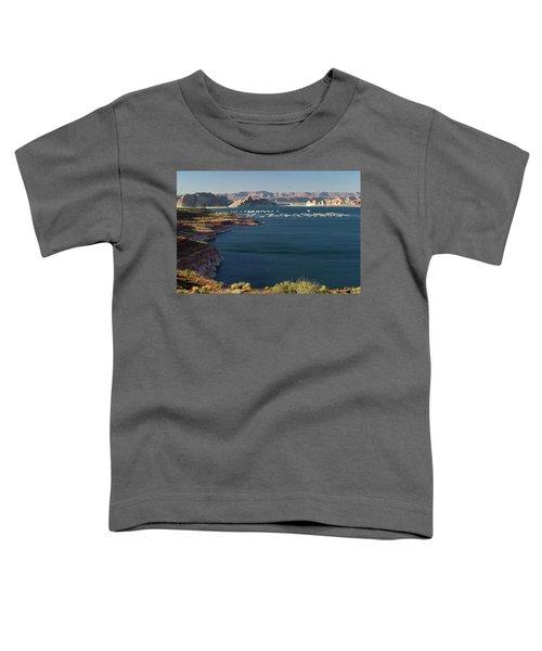 Houseboats At Marina At Lake Powell Toddler T-Shirt
