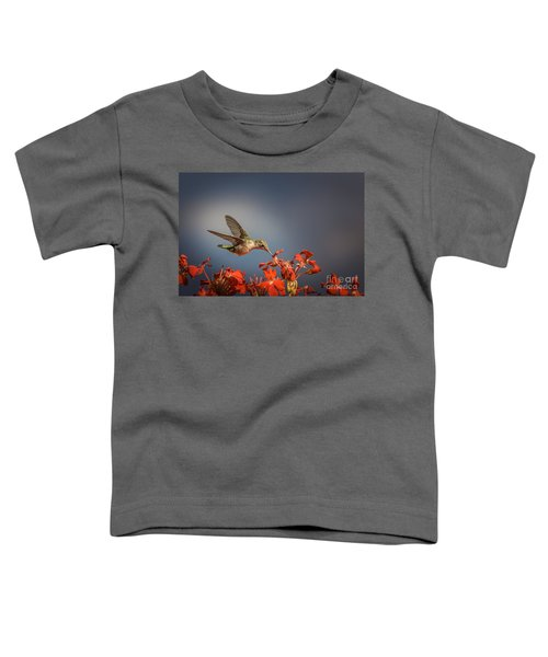 Hummingbird Or My Summer Visitor Toddler T-Shirt