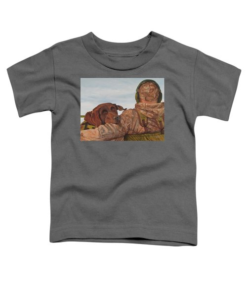 Hunting Boyfriend Toddler T-Shirt