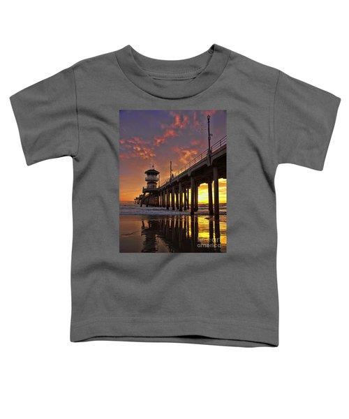 Huntington Beach Pier Toddler T-Shirt