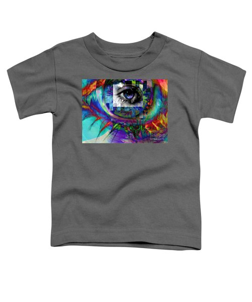 I Abstract Toddler T-Shirt