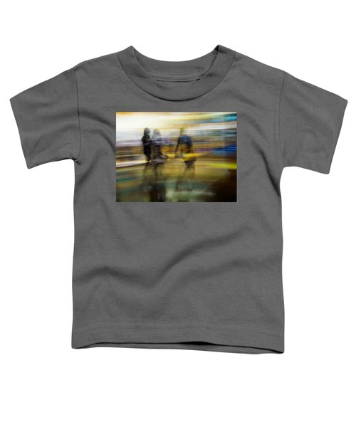 I Had A Dream That You And Your Friends Were There Toddler T-Shirt by Alex Lapidus
