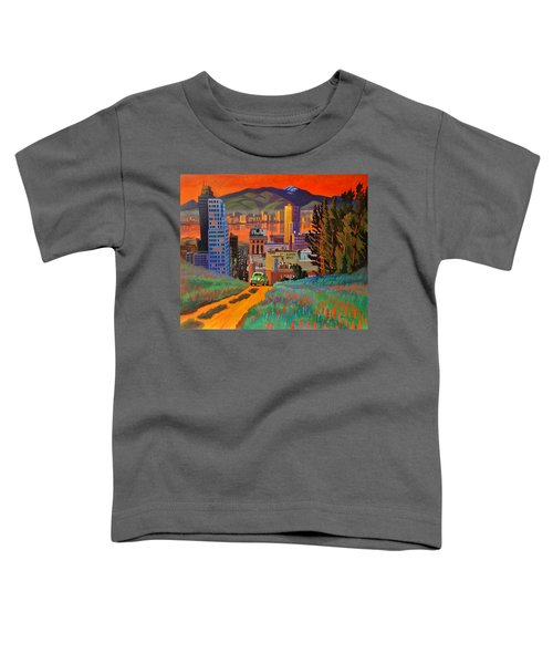 I Love New York City Jazz Toddler T-Shirt