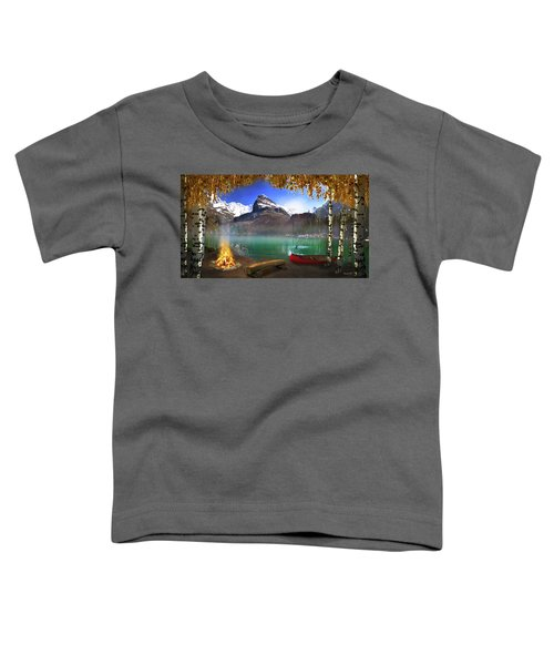 I Stillness I Heal Toddler T-Shirt by David M ( Maclean )