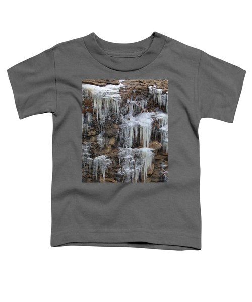 Icicle Cliffs Toddler T-Shirt