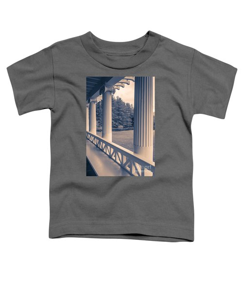 Iconic Columns On An Estate Toddler T-Shirt