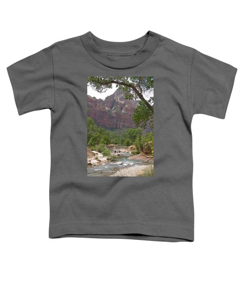 Iconic Western Scene Toddler T-Shirt