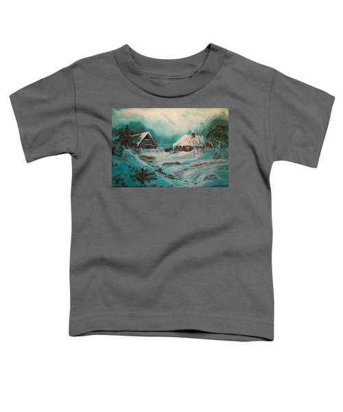 Icy Twilight Toddler T-Shirt