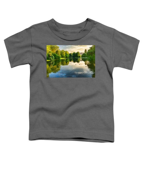 Impressions Of Summer - St James's Park Lake Reflections Toddler T-Shirt