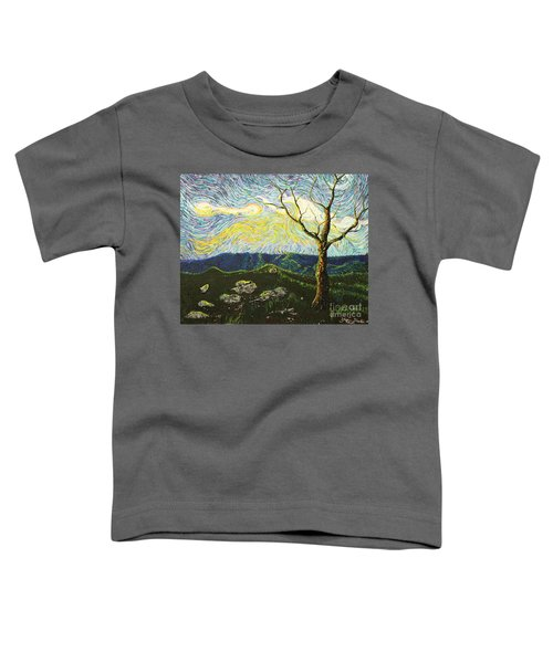 In Between A Rock And A Heaven Place Toddler T-Shirt