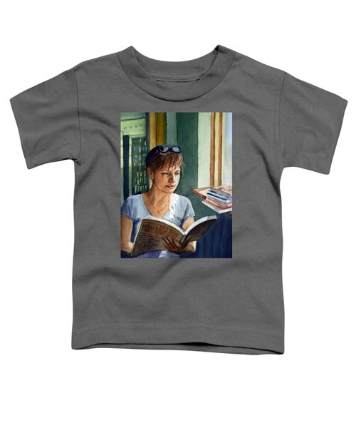 In The Book Store Toddler T-Shirt