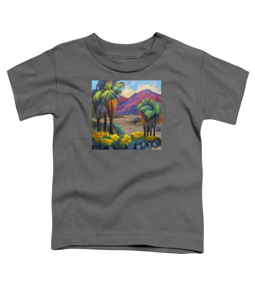 Indian Canyon In Spring Toddler T-Shirt
