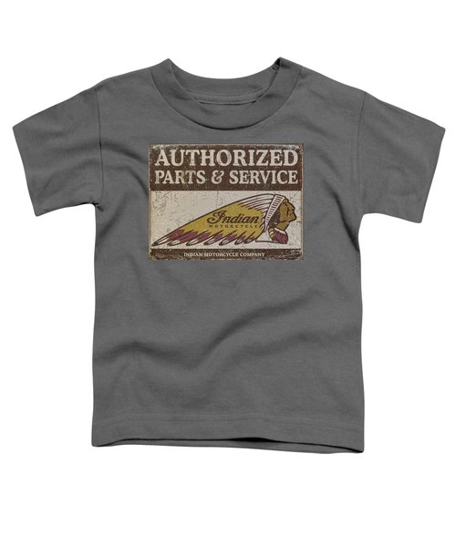 Indian Motorcycle Sign Toddler T-Shirt