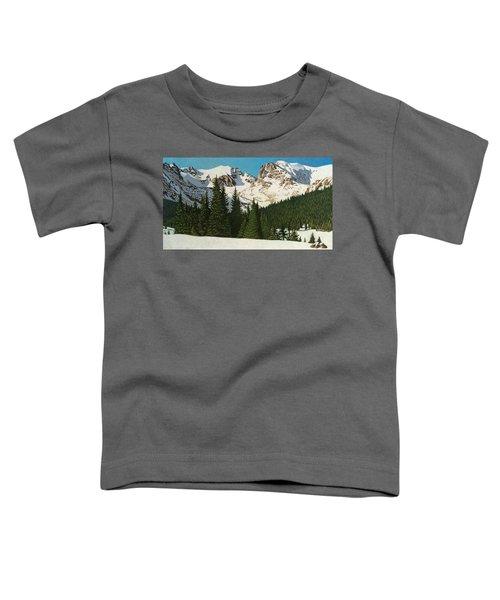 Indian Peaks Winter Toddler T-Shirt