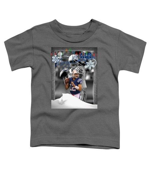 Indianapolis Colts Christmas Card Toddler T-Shirt