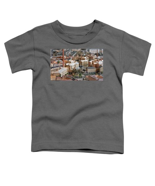 Industrial Town Miniature Model Toddler T-Shirt