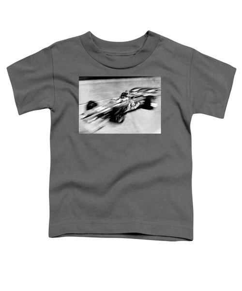 Indy 500 Race Car Blur Toddler T-Shirt